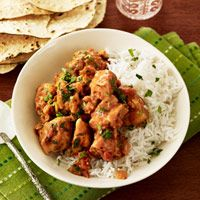 Chicken Tikka Masala Recipe -- Put this enticing Indian chicken dish on the table in just 20 minutes. Add a quick, tossed salad and dinner is served.