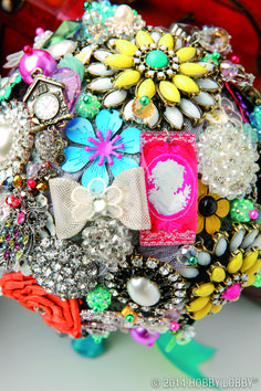 Make a DIY bejeweled bouquet with this how-to guide!