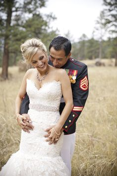 Classic Military Wedding