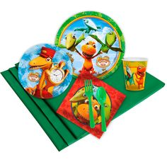 Check out Dinosaur Train Party Pack from Wholesale Party Supplies
