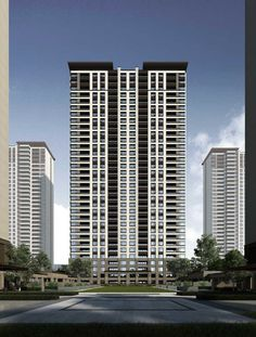 Condominium Architecture, Architecture Building Design, Chinese Architecture, Building Facade, Victorian Architecture, Facade Design, Concept Architecture, Residential Architecture, Condo Design