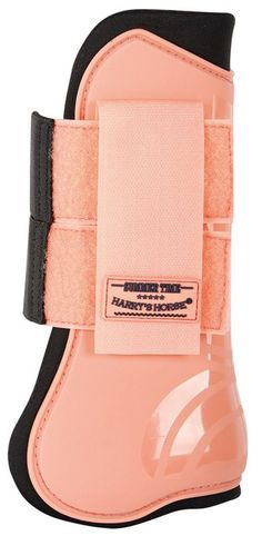 Harrys Horse Tendon Fetlock Boot Set Peach