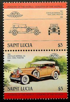 1931 Chrysler Imperial CG Dual Cowl Phaeton . Saint Lucia