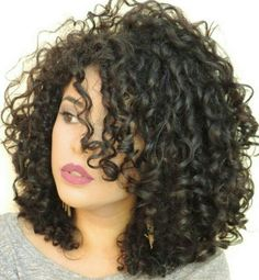 Super Hair Waves Medium Length Cut And Color 36 Ideas Medium Curly, Short Curly Hair, Medium Hair Styles, Curly Hair Styles, Natural Hair Styles, Curly Girl, Short Perm, Hair Medium, Great Hair