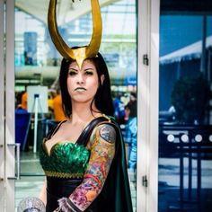 My lady Loki SDCC 2012