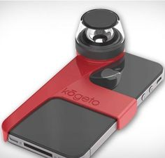 Another camera lens for the iPhone: lets you take full 360 degree photos and video.