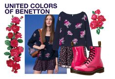 Benetton Winter 2015 by baggheera on Polyvore featuring mode, Dr. Martens and even&odd