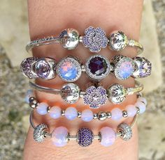 It feels like a summer morning today and I am so in the mood! #pandorastyle #pandorabeads #pandora #pandorabracelets #myarmparty #pink #purple #pansies #essence #pandoraessence #balance #friendship #faith #opalescent #crystals #dolove #doinspire #friends #beadfriends #pandoracharms #pandoraaddict @theofficialpandora