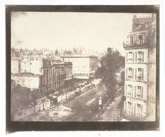 Boulevards des Capucines et des Italiens avec la rue de la Chaussée d'Antin. 1843 William Henry Fox Talbot. © Musée Carnavalet / Roger-Viollet