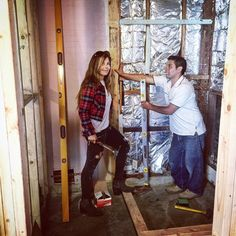 I get nervous when Amie picks up a hammer.  It's not that she is going to hit me, it's her changing the plan which is going to cost me;) #ChangeOrder #FlippingVegas #Budget
