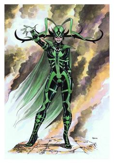 Hela by Mike McKone
