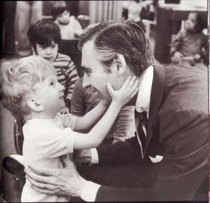 "Mr. Rogers:  ""When I was a boy and I would see scary things in the news, my mother would say to me, 'Look for the helpers. You will always find people who are helping,'"" he wrote. ""To this day, especially in times of 'disaster,' I remember my mother's words and I am always comforted by realizing that there are still so many helpers – so many caring people in this world."""