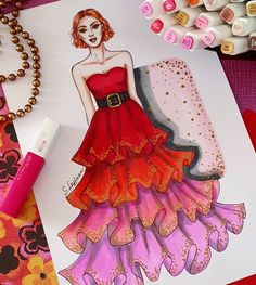 . #fashionartist #fashiondesigner #fashiondrawing #fashionillustrator #fashionsketch #svetley_art #fashionsketchbook #fashionillustration…