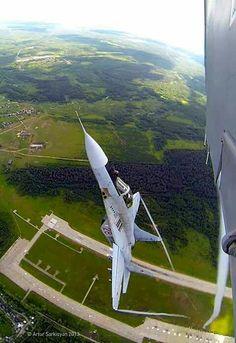 MiG-29 ascending