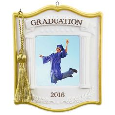 Graduation Photo Holder Ornament