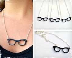 Nerdy Glasses Necklace