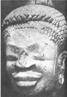 "The statues of ancient Buddhas of the East depicted him as having woolly hair- always shown in corn rows or ""peppercorn"" texture of small tight curls.  These statues also clearly show him to be Africoid, with a wide nose and thick lips, which are distinctive Negro characteristics.  https://selfuni.wordpress.com/2016/03/08/why-have-there-been-so-many-black-gods/"
