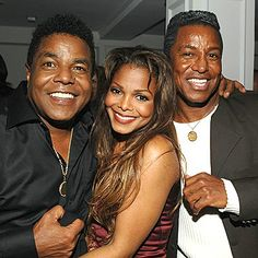 The Jacksons:Tito, Janet, Jermaine