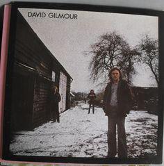 David Gilmour, Self-Titled Album, Vintage Record Album, Vinyl LP, Classic Rock…