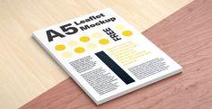 Mockup / A5 / Ulotka / Leaflet
