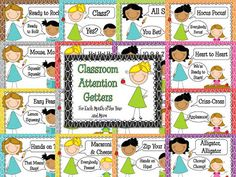 *Teaching Maddeness*: Attention-Getters Freebie