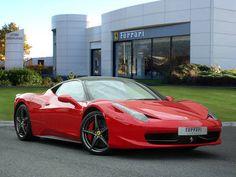 Used 2012 ( reg) Red Ferrari 458 for sale on RAC Cars