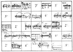 "Experimental music notation resources - Morton Feldman -""Credentials"""