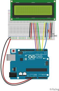 Daniele Alberti, Arduino 's blog: Come collegare un display LCD ad Arduino