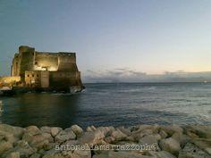 Tramonto autunnale a #Napoli - Castel dell'Ovo