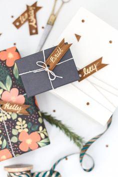 wood veneer gift tags