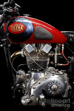 Gilera Saturno Engine 2 Photograph