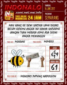 Bocoran JP 6D Togel Wap Online Indonalo Semarang 16 Juni 2017