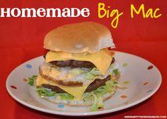 Mrs Happy Homemaker: Homemade Big Mac