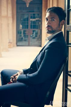 Adam Rayner. Forgot how delicious he was... First in the UK's 'mistresses' and now 'tyrant'