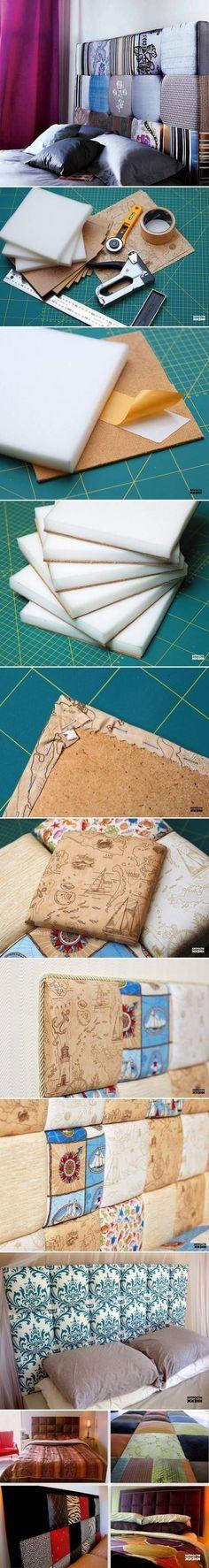 DIY: Respaldos camas. Tutorial