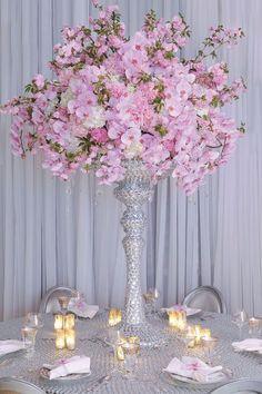 Gorgeous Wedding Flower Arrangements - Wedding Reception Flower Ideas - Cosmopolitan