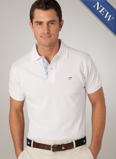 Skipjack Polo with Masterplaid Placket by Southern Tide