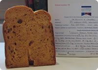 Smoked Paprika Pepper & Bacon Butty Loaf - bread machine