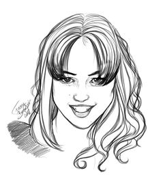 Famous Actress portrait. Do you know who she is ?  Quizz Portrait hi soon color