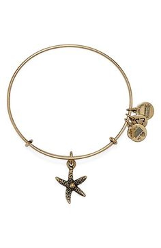Alex and Ani 'Starfish' Bangle Bracelet