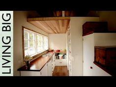 Stunning DIY Cottage-Style Tiny House - YouTube