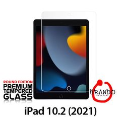 Brando Workshop Premium Tempered Glass Protector (Rounded Edition) (iPad 10.2 (2021))