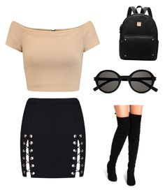 """""""Untitled #10"""" by emmykarllsonn on Polyvore featuring Alice + Olivia and Yves Saint Laurent"""