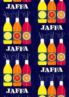 Jaffa, fabric from Vallila, Finland. Retro Design, Print Design, Blue Design, Graphic Design, Home Textile, Textile Design, Unique Curtains, Scandinavian Interior Design, Shop Interiors