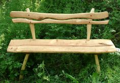 Greenwood Woman: Sculptural Benches