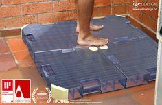 Sistema inovador aproveita a água do chuveiro para reúso