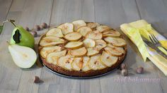 chef.bakumova КУЛИНАРИЯ: Грушевый пирог с шоколадом и фундуком / Pear cake ...