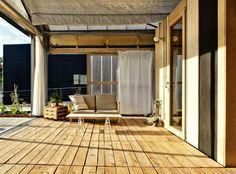 mooi terras voor met een buitenkeuken : )