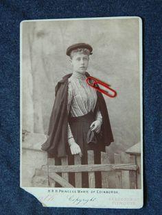 H R H Princess Marie of Edinburg Latter Queen of Romania