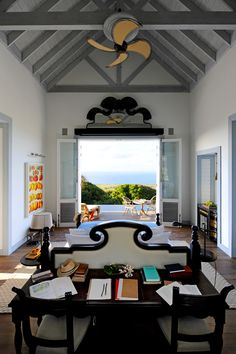 Discover the luxurious Guesthouses at Belle Mont Farm which overlook tropical forests and the Caribbean Sea and offer a unique refuge among St Kitts hotels. Architectural Digest, Boutiques, Resorts, Caribbean Resort, Hotel Restaurant, Photos Voyages, British Colonial, French Colonial, Luxury Accommodation